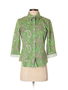 Talbots 3/4 Sleeve Button-Down Shirt Size 4 (Petite)