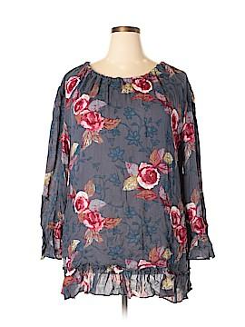 Hinge Long Sleeve Blouse Size 1X (Plus)
