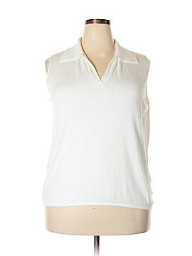 Worthington Sleeveless Top Size 2X (Plus)
