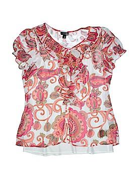 East5th Short Sleeve Blouse Size M (Petite)