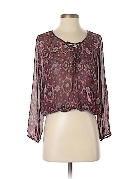 Chloe K Long Sleeve Blouse Size S