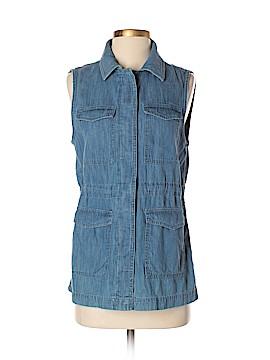 Ann Taylor LOFT Outlet Denim Vest Size XS