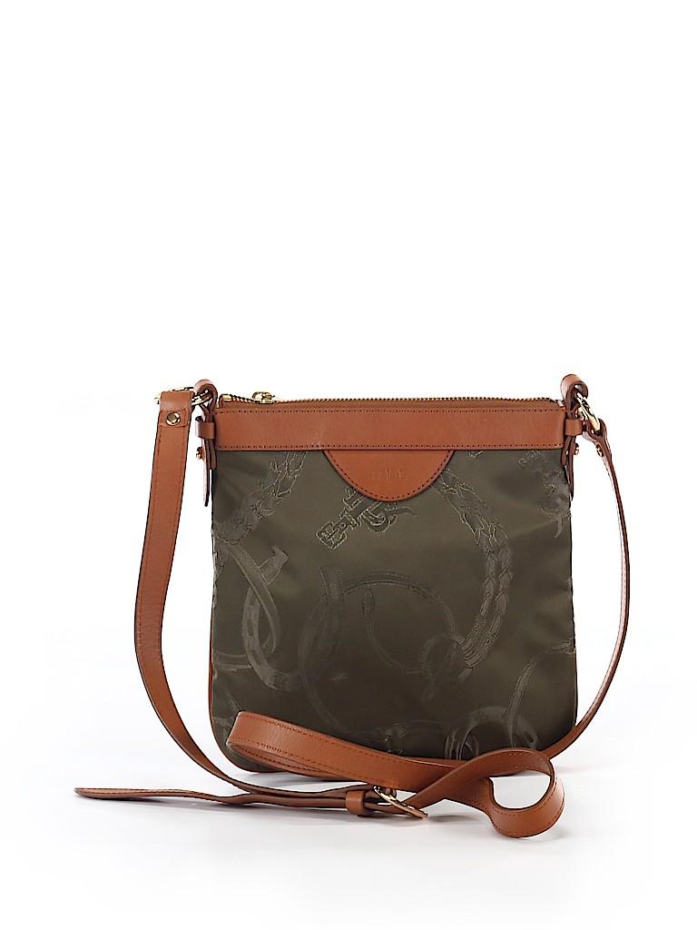 Lauren by Ralph Lauren Print Dark Green Crossbody Bag One Size - 60 ... 6af298e5cbe9b