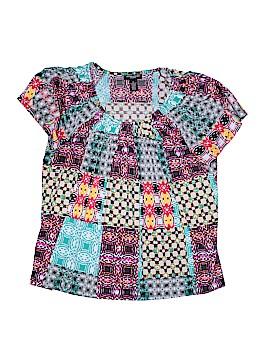 Valerie Stevens Short Sleeve Top Size 1X (Plus)