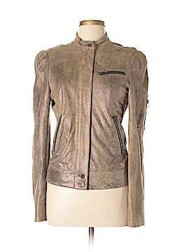 Kelly Wearstler Leather Jacket Size 10