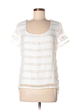Donna Degnan Short Sleeve Blouse Size 4