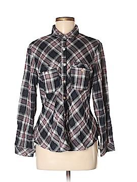 Hazel Long Sleeve Button-Down Shirt Size M