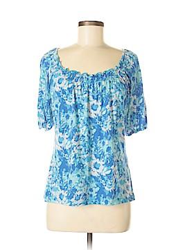 Liz & Co Short Sleeve Top Size M