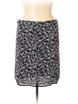 Caslon Silk Skirt Size L