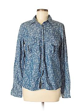 Maison Scotch Long Sleeve Button-Down Shirt Size Sm (1)