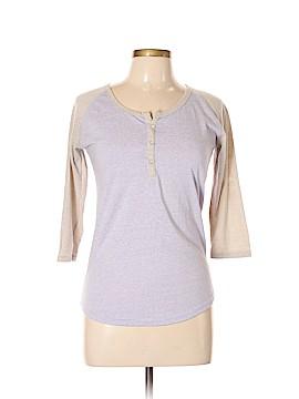 SWS Streetwear Society Long Sleeve Henley Size L