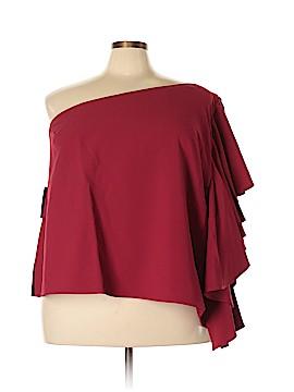 Eloquii Short Sleeve Blouse Size 28 (Plus)
