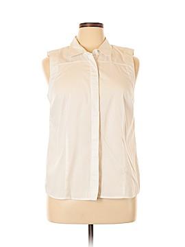 Laundry by Shelli Segal Sleeveless Button-Down Shirt Size 14