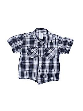 WonderKids Short Sleeve Button-Down Shirt Size 3T