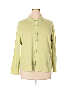 Precious Fibers Cashmere Cardigan Size 1X (Plus)