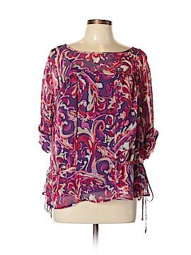 A.n.a. A New Approach 3/4 Sleeve Blouse Size XL