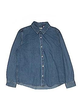 L.L.Bean Long Sleeve Button-Down Shirt Size 14 - 16
