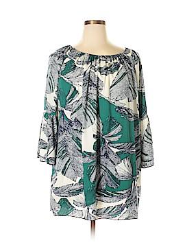 Newbury Kustom 3/4 Sleeve Blouse Size L