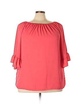 Emma Rose 3/4 Sleeve Blouse Size 1X (Plus)