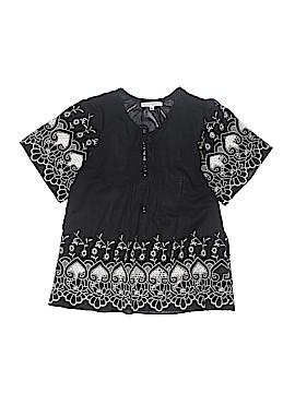 Joy Joy Short Sleeve Blouse Size M