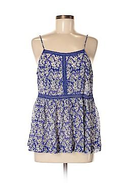 Madewell Sleeveless Silk Top Size M