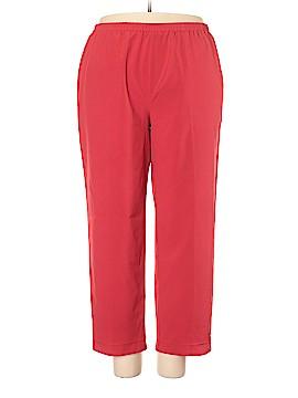 Sag Harbor Casual Pants Size 18W (Plus)