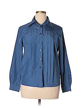 Liz Baker Essentials Long Sleeve Blouse Size 14