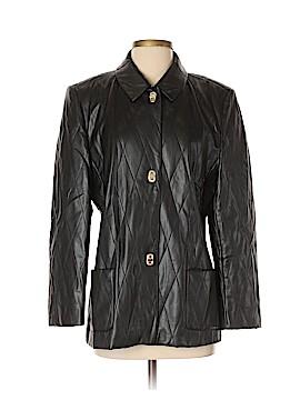 Basler Faux Leather Jacket Size 40 (IT)