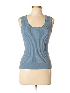 Rafaella Sleeveless Silk Top Size M