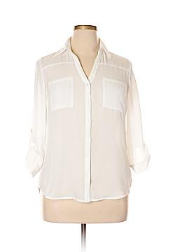 A. Byer Long Sleeve Blouse Size L