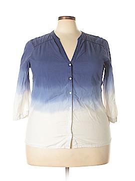 Gap Outlet 3/4 Sleeve Blouse Size XXL
