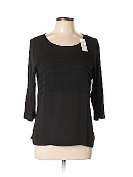 Ann Taylor LOFT Outlet 3/4 Sleeve Blouse Size L (Petite)