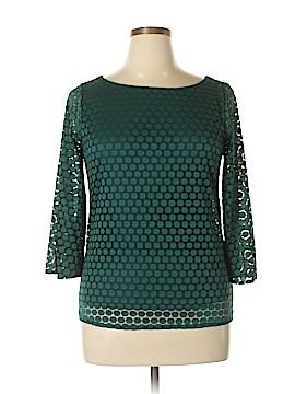 Renee C. 3/4 Sleeve Blouse Size L