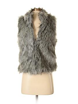 PPLA Clothing Faux Fur Vest Size S