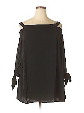 Eloquii 3/4 Sleeve Blouse Size 20 (Plus)