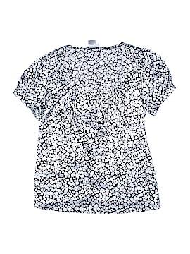 Fred David Short Sleeve Blouse Size 1X (Plus)