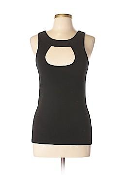 Cache Sleeveless Silk Top Size L