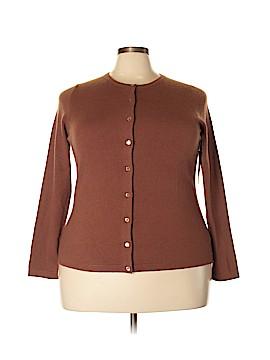 Pure Collection Cashmere Cardigan Size 20 (Plus)