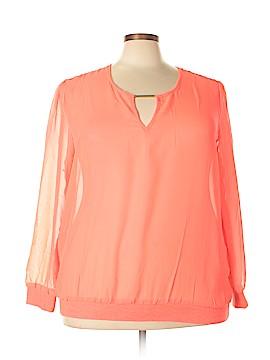 Nolita Long Sleeve Blouse Size 3X (Plus)