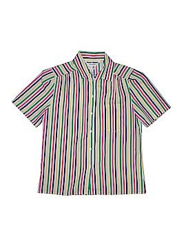 Ship'n Shore Short Sleeve Blouse Size 8