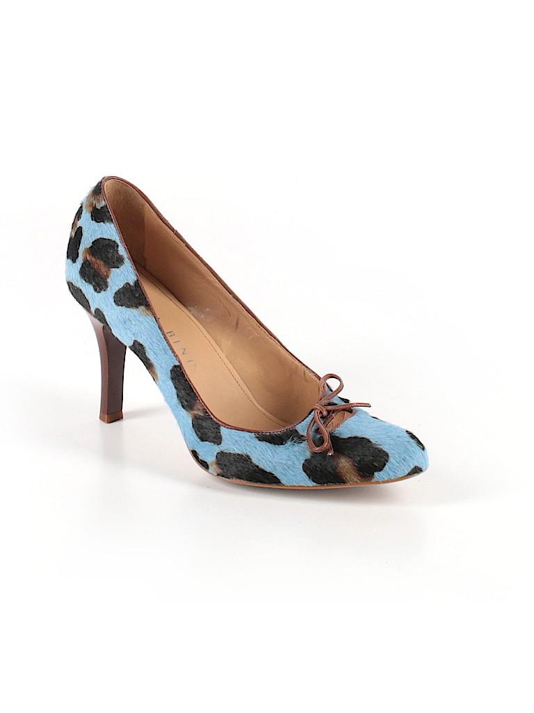 2f5a762cafb Gianni Bini Print Blue Heels Size 7 - 71% off