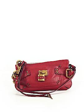 Chloé Leather Wristlet One Size