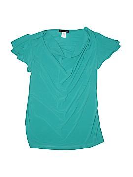 American City Wear Short Sleeve Blouse Size L