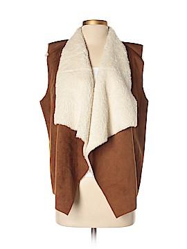 RD Style Faux Fur Vest Size L