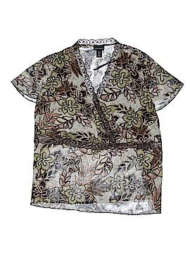 Lane Bryant Outlet Short Sleeve Blouse Size 26 Plus (7) (Plus)