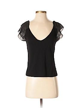 Lemon Sleeveless Silk Top Size M
