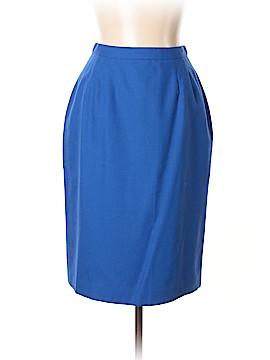 Kasper A.S.L. Wool Skirt Size 10 (Petite)