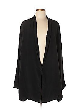 Raquel Allegra Silk Blazer Size Lg (3)