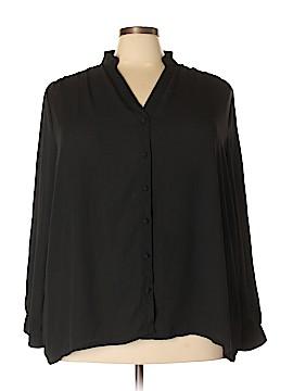 Myrtlewood Long Sleeve Blouse Size 4X (Plus)
