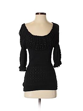 Catherine Malandrino 3/4 Sleeve Top Size S